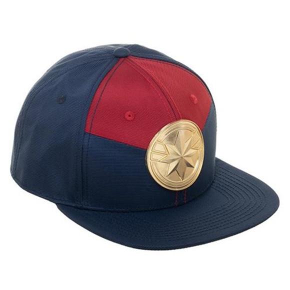new concept 7a46b 0a67e Captain Marvel Suit-Up Snapback Cap
